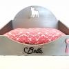 cama personalizable silueta gato