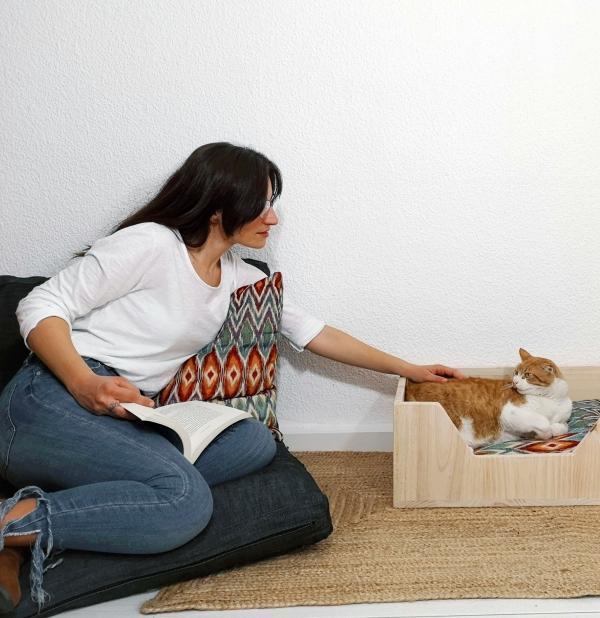 téxtiles de casa con la cama de tu perro